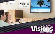 Visions Electronics Standard Gift Card (Physical Delivery)