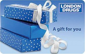 London Drugs Standard Gift Card (Physical Delivery)