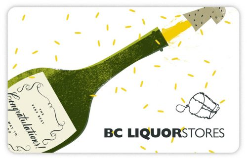 BC Liquor Stores Standard Gift Card (Physical Delivery)