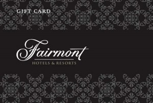 Fairmont Hotels Online Gift Card (Electronic Delivery)