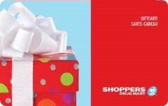 Shoppers Drug Mart Standard Gift Card (Physical Delivery)