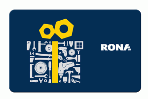 RONA Standard Gift Card (Physical Delivery)