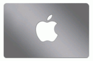 Apple Store Online Gift Card (Electronic Delivery)