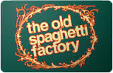 Old Spaghetti Factory Online Gift Card (Electronic Delivery)
