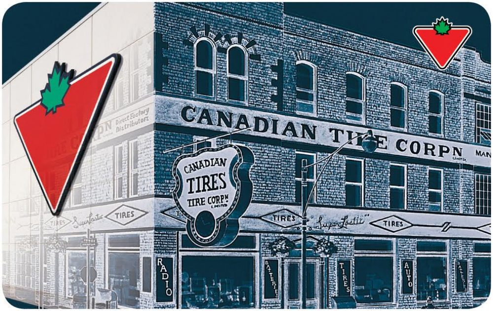 Canadian Tire Heritage Gift Card Image