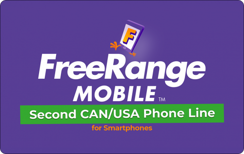 FreeRange Mobile Second Line CAN/USA
