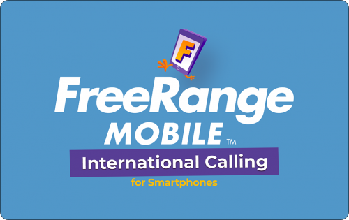 FreeRange Mobile International Calling
